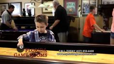 Florida Billiard Game Room Store & Pool Table:  Talk Instead of Text Promo