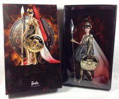 Fashion Dolls Direct Exclusive Barbie Doll Athena MIMB Tissued Box Gold Label #Dolls