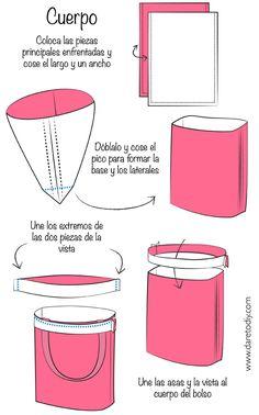 Dare to DIY: El bolso que cambia de color 2.0: cómo hacer un tote bag
