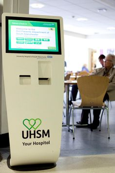 The t-Point has a modern contemporary style and is a highly versatile kiosk which can be used in a number of different ways. It is used by the NHS in various hospitals as a self check in and information kiosk. Designed and Manufactured by 10 Squared.