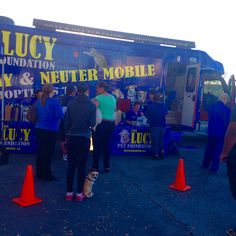 The Spay and Neuter mobile in Encino!