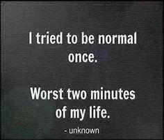 A little short quote describe me