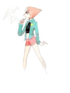 Bad!Pearl     Steven Universe AU Fan Art by sablix on Tumblr