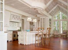 Marshgate, Seabrook Island - beach-style - Kitchen - Charleston - R.M. Buck Builders