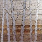 Pier 1 Metallic Birch Trees Wall Art