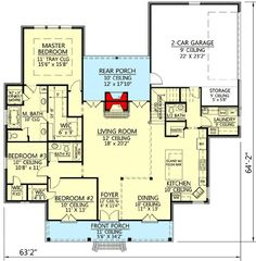 Acadian House Plan With Great Rear Porch - 56379SM | 1st Floor Master Suite, Acadian, Bonus Room, Butler Walk-in Pantry, Corner Lot, European, French Country, PDF, Photo Gallery, Southern | Architectural Designs