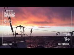 Il cielo rosa e le riparazioni dopo la burrasca - YouTube