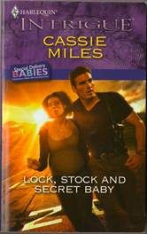 Lock, Stock And Secret Baby by Cassie Miles Harlequin Intrigue