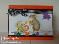 Adorable House Mouse Designs are now carried by #Stampendous! www.stampthis.blogspot.com