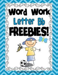 Letter B FREEBIES!
