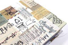 Bibeleinband mit der Nähmaschine und Papier - Bible Art Journaling von Rebecca Sawatsky