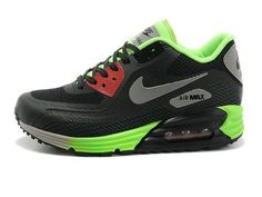 sports shoes f1dd9 307ce Homme Nike Air Max 90 Lunar Noir Cool Grise Anthracite Volt uqHy