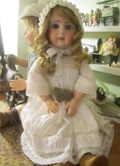 Antique Child Doll Restoration - Doll Repair - Doll Clothes ...