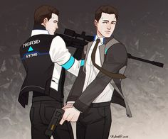 Detroit Become Human Connor and Detroit Become Human Game, Quantic Dream, Becoming Human, Cartoon Games, Human Art, Film, The Twenties, Video Games, Character Design