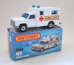 Matchbox 41  Ambulance