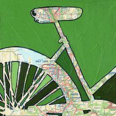 Bike Salt Lake City - Utah - bike art