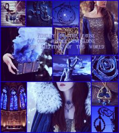 Tribute to the Blue Ajah of the White Tower - The Wheel Of Time Series.