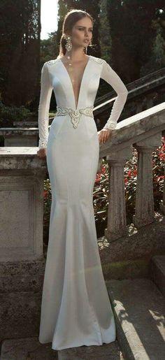 Berta Bridal Winter 2019 Collection – Part 3 – Wedding Gown Wedding Dresses 2014, Bridal Dresses, Wedding Gowns, Wedding Blog, Dresses Dresses, Hair Wedding, Formal Dresses, Wedding Ceremony, Wedding Ideas