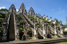 Lempuyang Temple  Check out Bali's Most Breathtaking Viewpoints http://www.theluxurysignature.com/2015/08/17/balis-most-breathtaking-viewpoints/