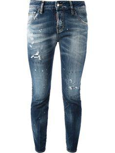 DSQUARED2 - Distressed Skinny Jean