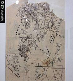 #Repost @skynet70  Rimini - Biennale del Disegno - Galileo Chini #MyBiennaleRN #biennaledeldisegno #igersrimini