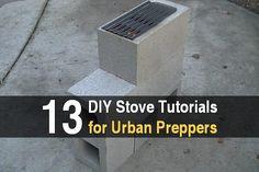 13 DIY Stove Tutorials for Urban Preppers