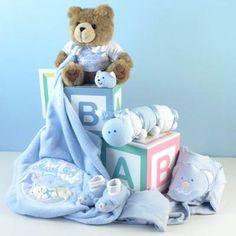 ABC Blocks Bear Baby Gift