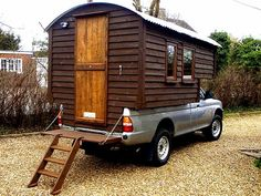 Handmade Matt And His Wonderful, Easy To Construct Demountable Truck Camper ~ click on photo for more ~