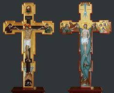 - Cruce pentru Sfantul Altar - fata - verso