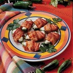 Jalapeno Pepper Appetizers Recipe  Check our Profile to get more info  Jalapeno Pepper Appetizers Recipe These appetizers are so easy to make and they taste so good. I have to warn you that eating them is habit-forming! Ingredients 10 medium fresh jalapeno peppers 4 ounces cream cheese softened 10 Jones Dairy Farm Dry-Aged Bacon strips halved Directions Cut peppers in half lengthwise; remove seeds stems and   #recipe #recipes #vegan #vegetarian #lunch #cooking #feedfeed #food #veganfood…