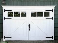 Barn Garage Doors For Sale these carriage doors are easily operatedhand for quick