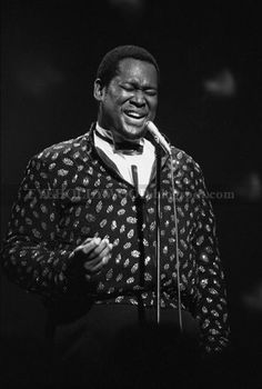 Luther Vandross:  I miss him.