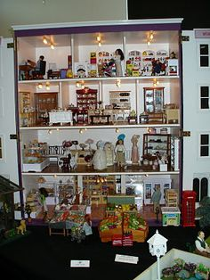 a small department store doll house