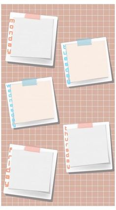Aesthetic Iphone Wallpaper, Aesthetic Wallpapers, Bullet Journal Headers And Banners, Happy Birthday Template, School Timetable, Schedule Design, Instagram Frame Template, Powerpoint Background Design, Photo Collage Template
