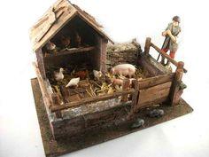 Pollaio per figure cm 12-13 - CAPANNE - CASE - BORGHI - SCENOGRAFIA Case, Bird, Outdoor Decor, Home Decor, Figurative, Decoration Home, Room Decor, Birds, Interior Design