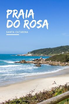O que fazer na Praia do Rosa - trilhas ecológicas, caminhadas pela faixa de areia branca, Surf, WomenSurfCamp, GaySurfBrazil, onde comer e onde ficar. Road Trip Music, Road Trips, Travel Around The World, Around The Worlds, Romantic Travel, To Go, Beach, Water, Outdoor