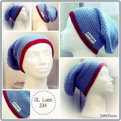 Our version of the olympic woolen hat for the Norwegian team in Sotsji :) Easy to translate from Norwegian. Crochet Beanie, Knit Crochet, Crochet Hats, Free Pattern, Crochet Patterns, Diy Projects, Diy Crafts, Leggings, Homemade