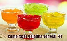 Como fazer gelatina vegetal FIT com Ágar-Ágar #gelatina #agaragar #fit #academia #receitas #dicas #vegan