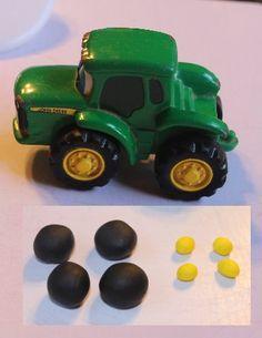 John Deere Tractor tutorial