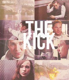 """Give him the kick."""