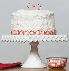 Peppermint Swirl 3-Layer Cake - Guideposts