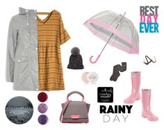 """""""umbrella day"""" by denisahad ❤ liked on Polyvore featuring Dorothy Perkins, ZAC Zac Posen, Deborah Lippmann, Forever Young, Eugenia Kim, UGG, Burberry and Fresh"""