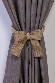 30 rope curtain tie back ideas
