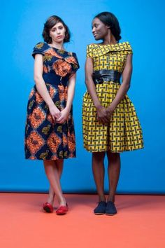 African Print Dresses By Bot i Lam