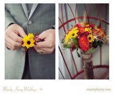 Beautiful Fall Wedding Florals!