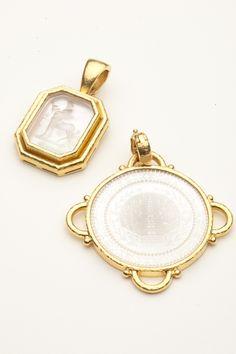Elizabeth Locke Jewelry   elizabeth locke gambling chip pendant elizabeth locke sold out details ...
