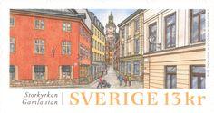 "Sweden 13 kr ""Old Town"" 2016.  Martin Mörck sc."