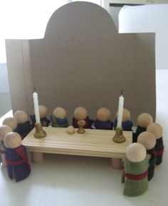 Catechesis of the Good Shepherd Last Supper set--easy to make
