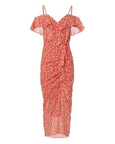 Shop the Veronica Beard Marilyn Cold Shoulder Red Dress & other designer styles at IntermixOnline.com. Free shipping +$150.