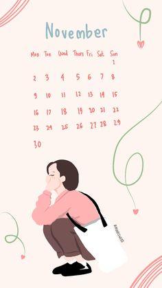 Wallpaper Wa, Iphone Wallpaper, Note Doodles, Calendar 2020, Cute Cartoon Wallpapers, Aesthetic Wallpapers, Mood, Instagram, Avatar